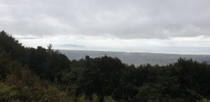 Mt Thompson - looking to Kapiti Island